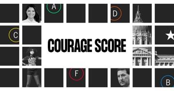Courage Score Banner