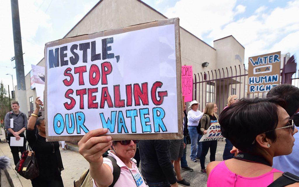 Nestle Stop Taking California's Water